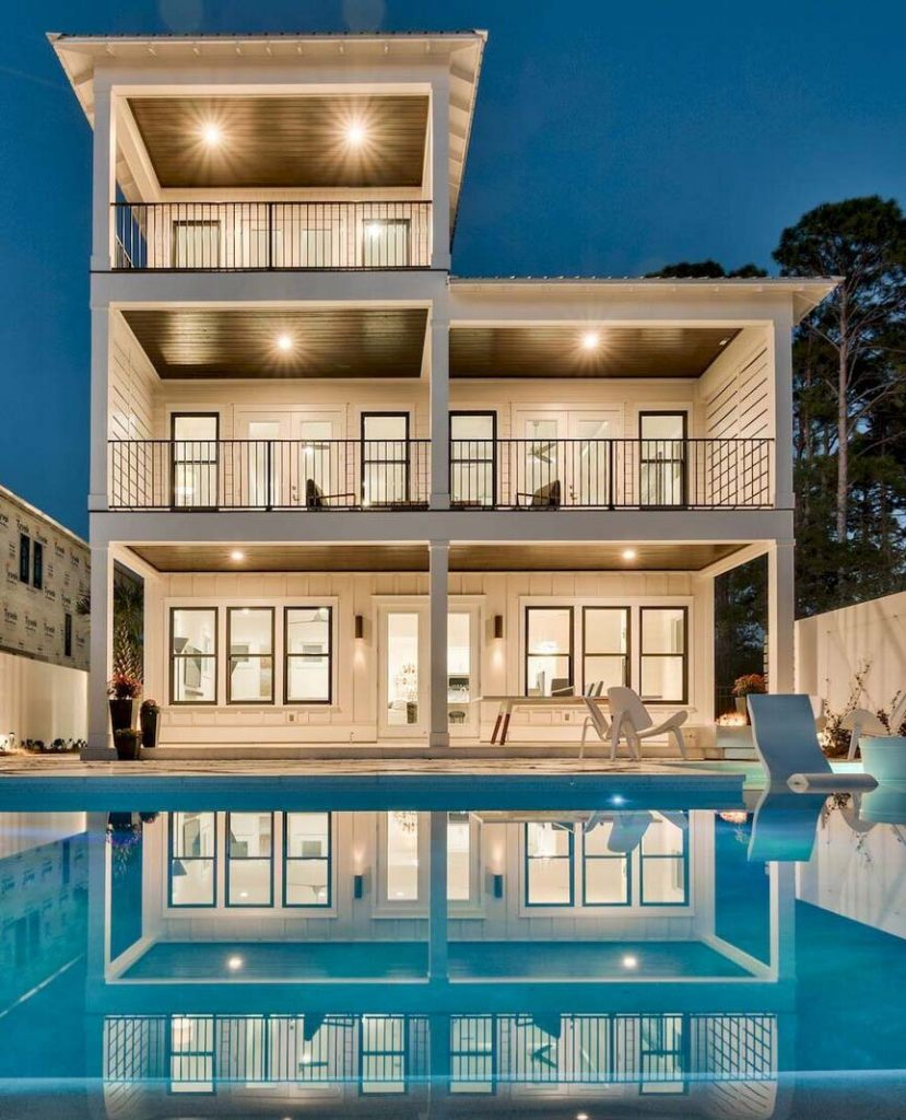 A beautiful coastal home we built. We have similar homes we've constructed in Panama City Beach to 30A Florida
