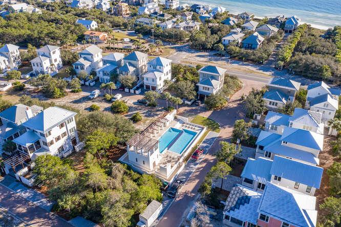 Aerial view Lot 2 Sea Nest Village