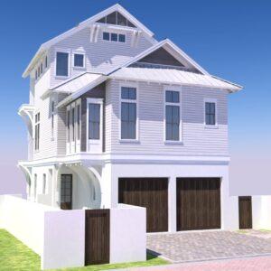 Artist rendering of Lot 7 Sea Nest property
